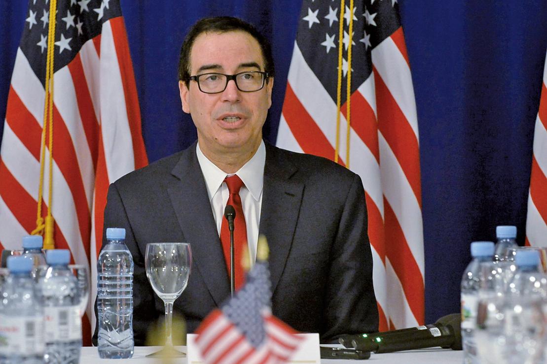 中美貿易,關稅,美國財政部長,梅努欽