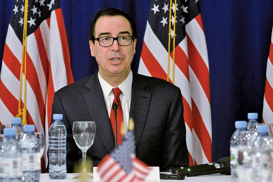 梅努欽支持特朗普的決策 美國考慮對所有中國商品徵稅