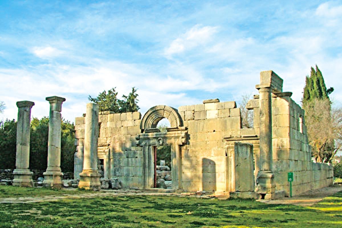 古猶太村莊卡法巴然,公元7~13世紀。(MASQUERAID/Wikimedia Commons)
