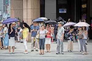 日本創紀錄高溫 一周多30死 數千人送醫