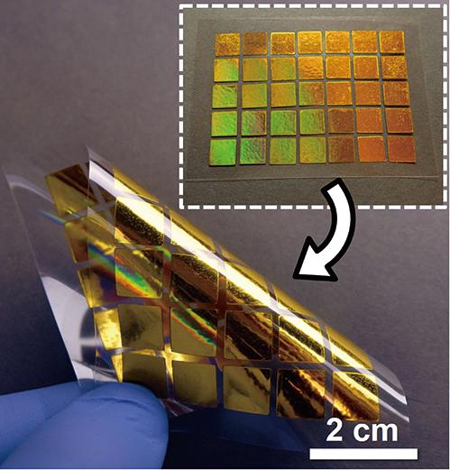 美國普渡大學的研究人員所開發的技術,可以將電子元件像報紙一樣印出來。(Purdue University)