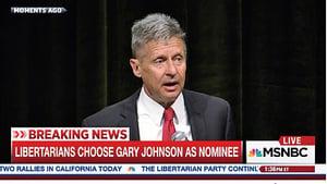 強生獲美第三大黨提名競選總統