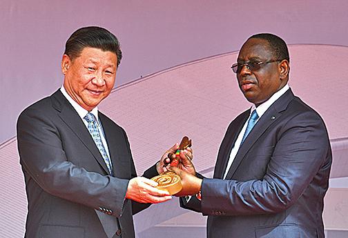 中共結交非洲小國為「曲線入美」