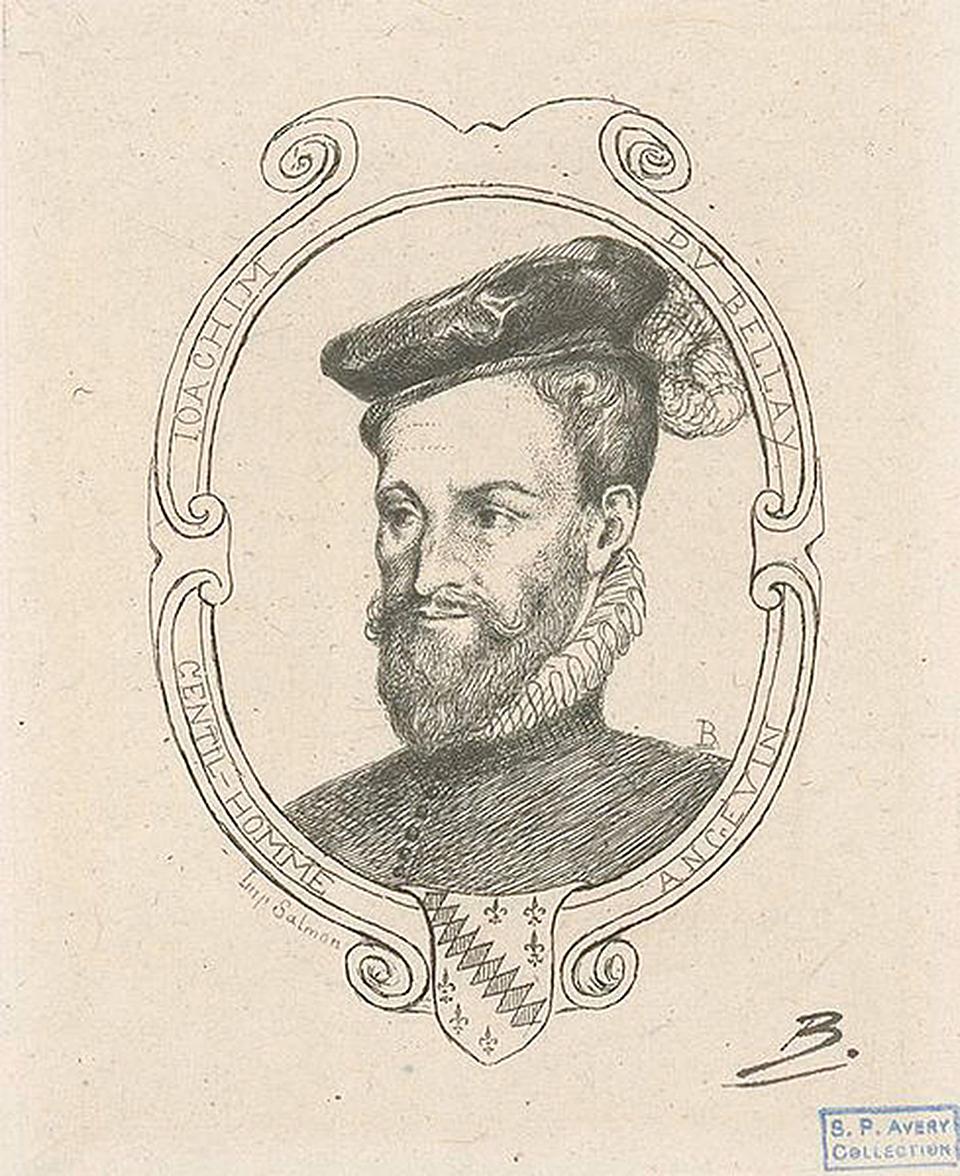 法國詩人約阿希姆杜貝萊(Joachim du Bellay)肖像(維基百科)