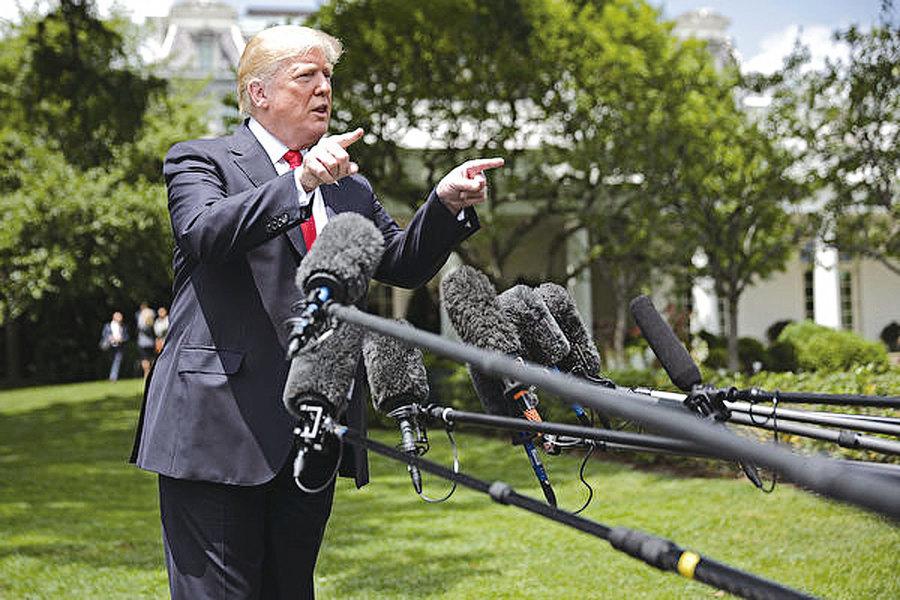 媒體瘋狂圍攻特朗普中共鬼影幢幢