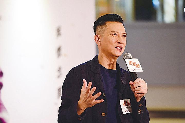 張家輝表示和劉青雲合作很舒服。(大紀元資料照片) 劉青雲和林嘉欣首次合作,在戲中扮演夫妻。(網絡圖片)