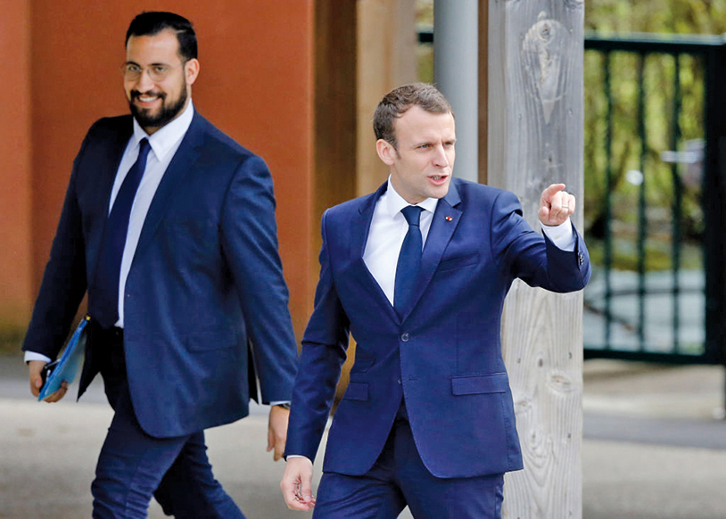 法國總統保鏢施暴 馬克龍恐陷政治危機