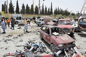 巴國大選遭炸彈襲擊 至少30死逾40傷
