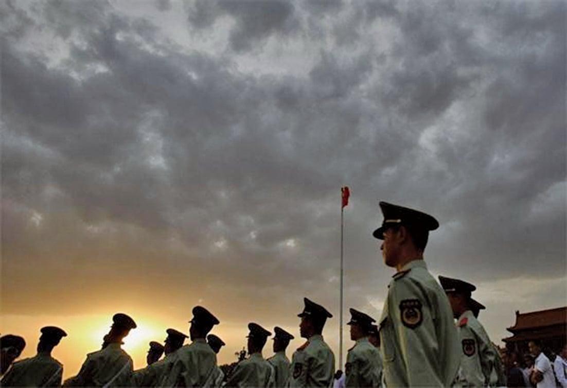 18日,中共公安部緊急召開會議表態要絕對聽習近平的指揮,把維護習核心地位作為公安機關最大政治任務。(Getty Images)