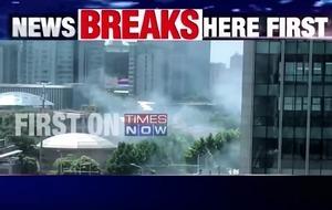 美國駐華大使館外爆炸 嫌犯送醫