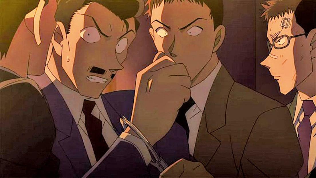 今集《名偵探柯南》,毛利小五郎成為恐襲疑犯,雖然他矢口否認犯案,但仍遭逮捕。