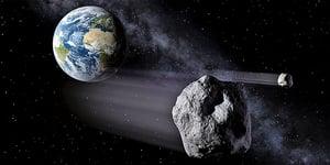 剛接近地球的罕見小行星是「雙胞胎」