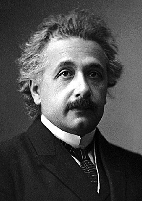 物理學家 愛因斯坦 Albert Eistein (1879~1955)