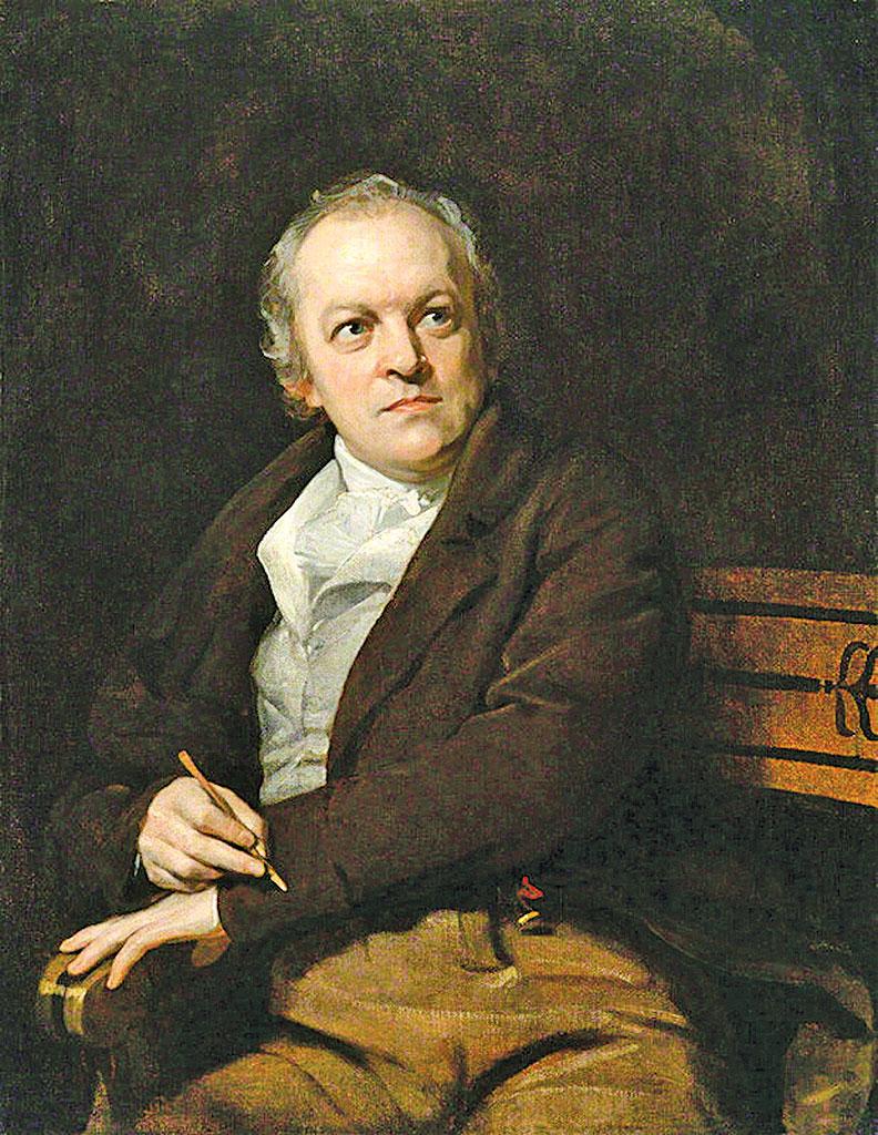 英國詩人和畫家 威廉布萊克 William Blake (1757~1827)