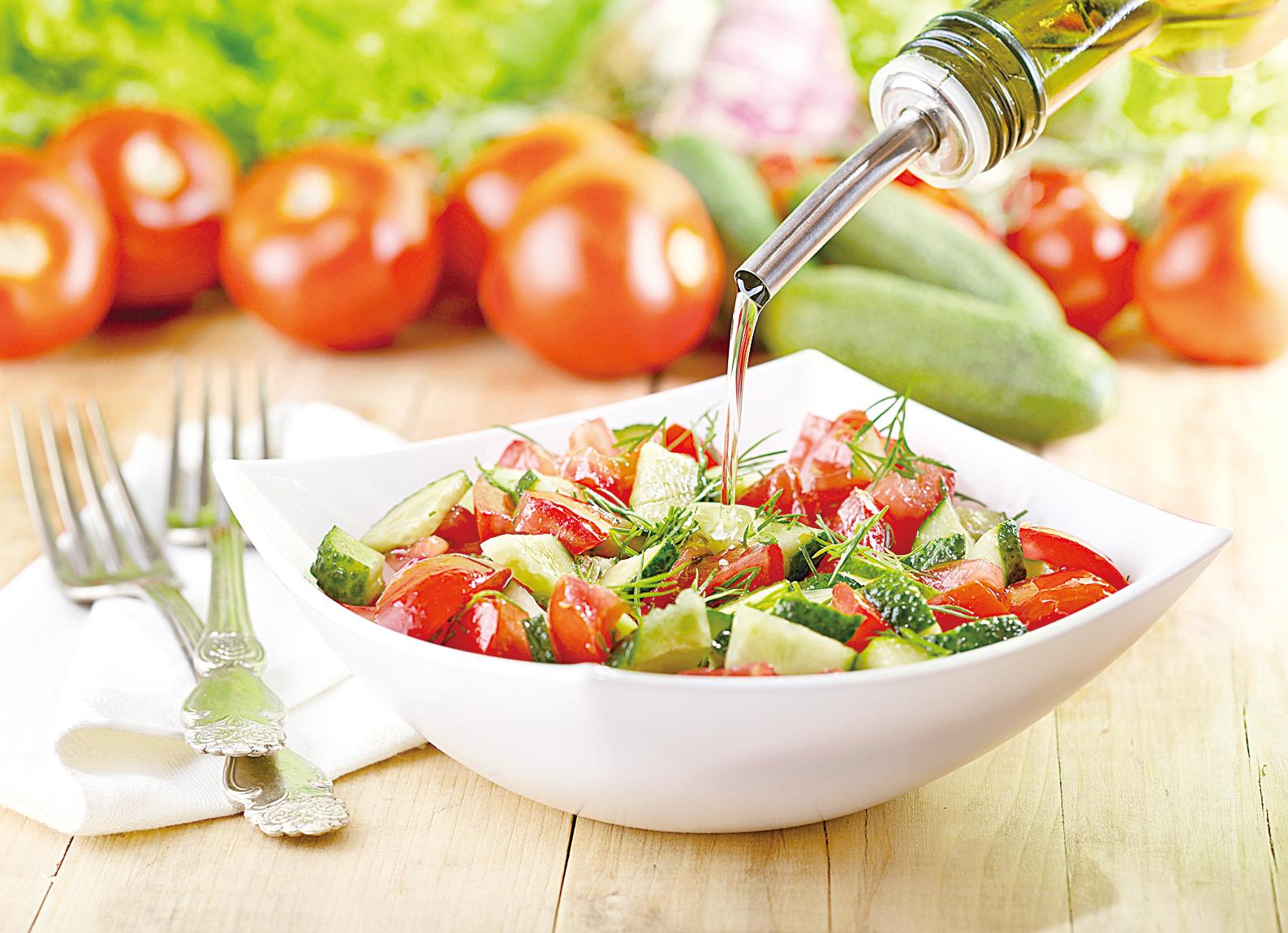將你習慣使用的油類換成橄欖油。