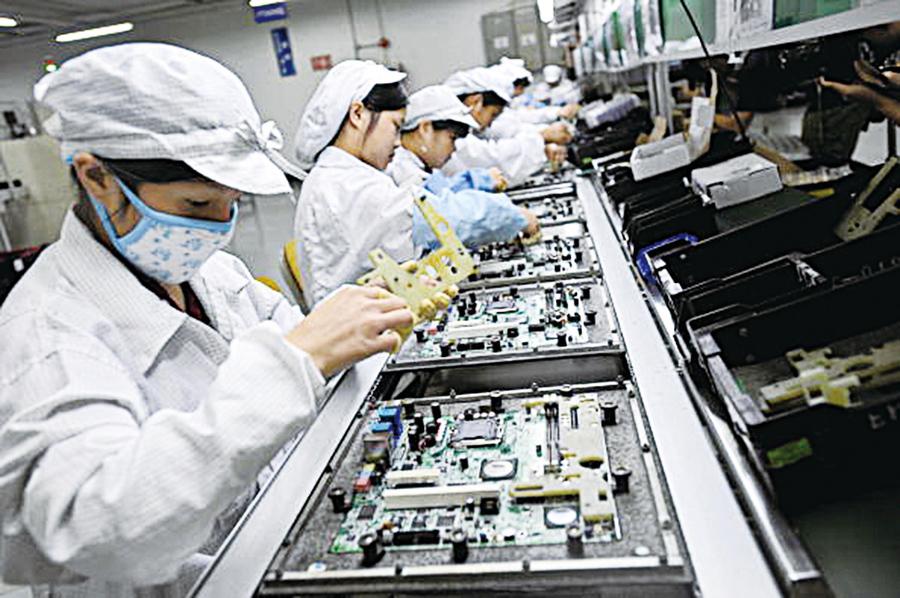 貿易戰生產線搬家 台電子廠離開大陸