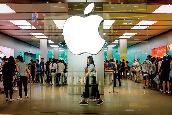 蘋果公佈業績,中國部份表現靚麗,但也面臨重大的隱憂。(AFP)