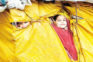 氣候變化也能引發難民潮