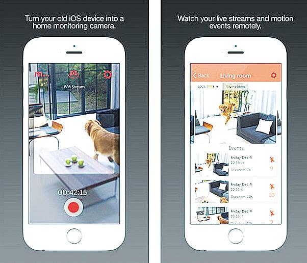 Manything可將iPhone變成家庭警報安全系統。(網站截圖)