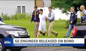 GE被捕華工涉竊密兼職中國
