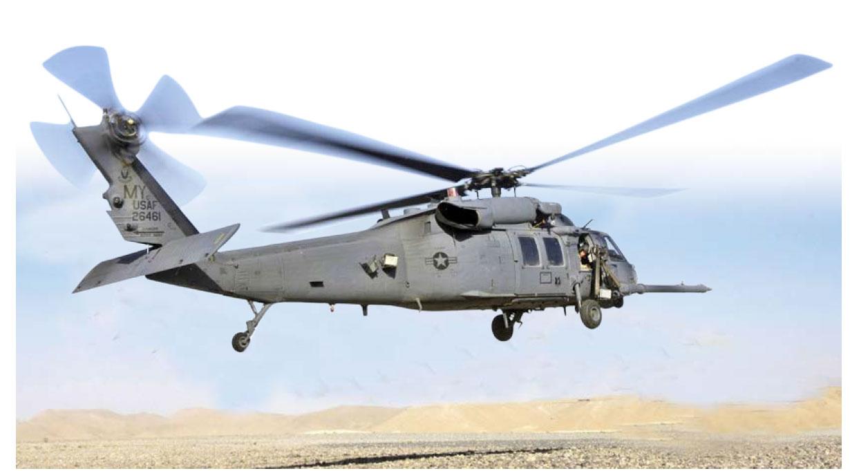 在尚未結束的環太平洋演習(RIMPAC)期間,美國海軍使用MH-60S直昇機上的激光武器系統掃瞄和探測海中水雷等目標。(US Air Force))