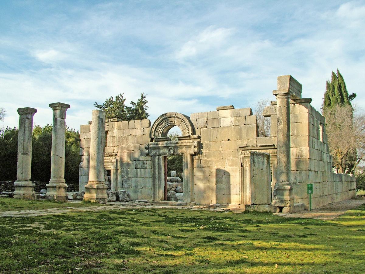 古猶太村莊卡法巴然,7到13世紀。(Wikimedia Commons)