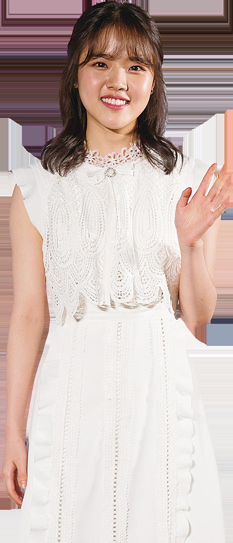 在《與神同行》中飾演「月值使者」的金香奇,日前在韓國出席電影製作發表會。(全景林/大紀元)