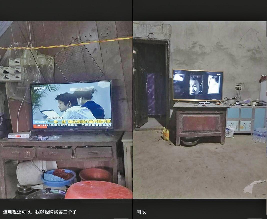 對拼多多在打假、護假兩派辯論中,中國貧窮的一面曝光在人們面前。(圖片取自拼多多用戶評價)