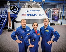 SpaceX飛船明年送太空人上太空