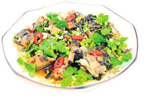 【梁廚美食】欖豉醬蒸鱈魚腩