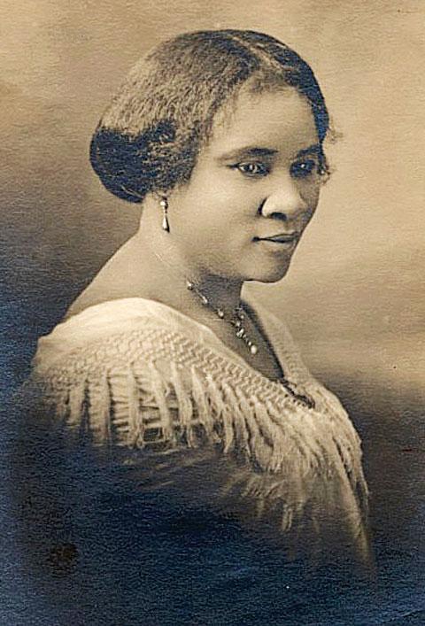 C.J.沃克夫人 C. J. Walker (1867—1919)