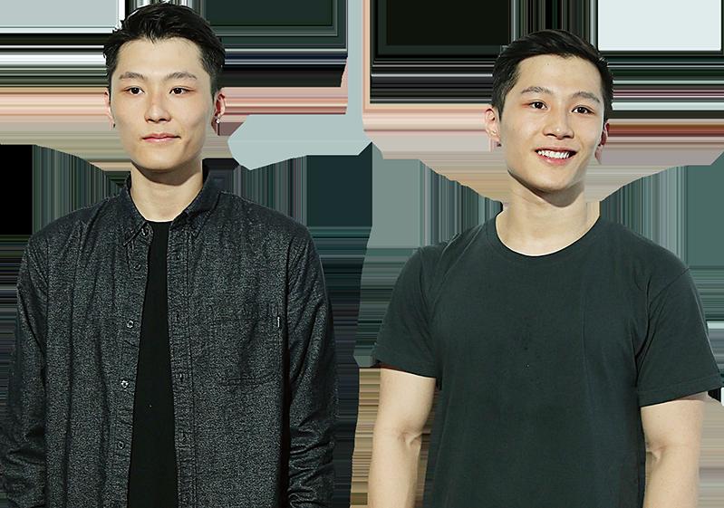 湯鎮業的雙胞胎兒子。(湯君慈IG圖片)
