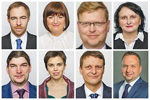 捷克多名政要,包括政府官員及國會議員支持法輪功,譴責中共活摘法輪功學員器官的罪行。(明慧網)