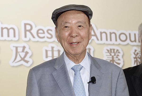 銀河娛樂主席呂志和表示,澳門博彩業持續復甦,旗下酒店入住率接近100%。(宋碧龍/大紀元)