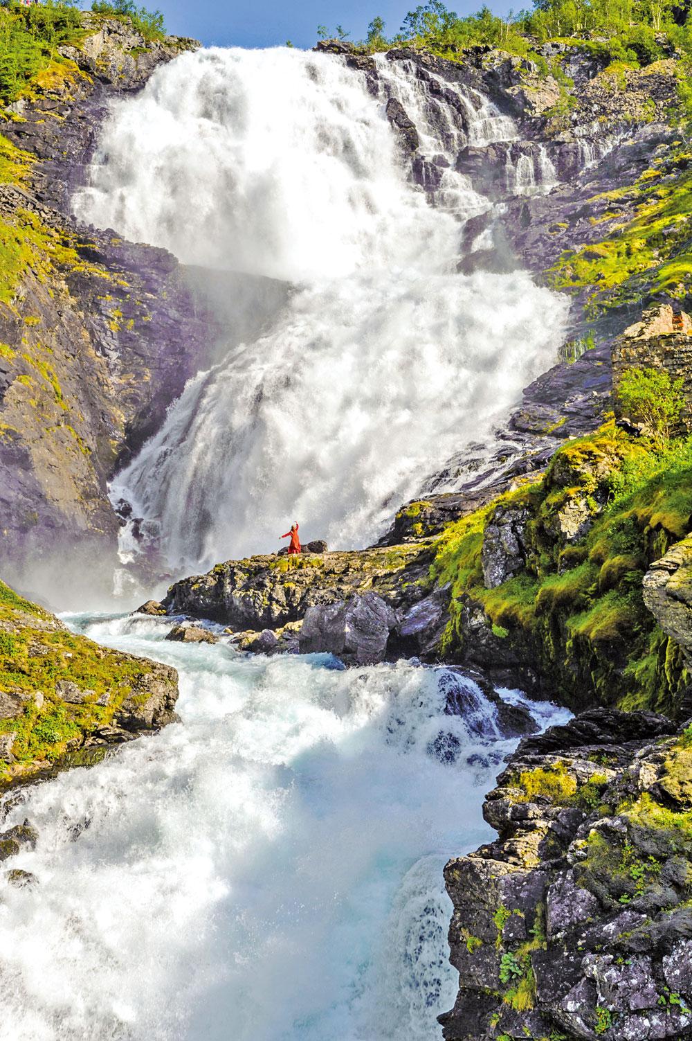 挪威的肖斯瀑布。(Fotolia)