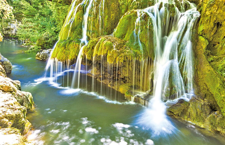 羅馬尼亞的比加爾瀑布。(Fotolia)