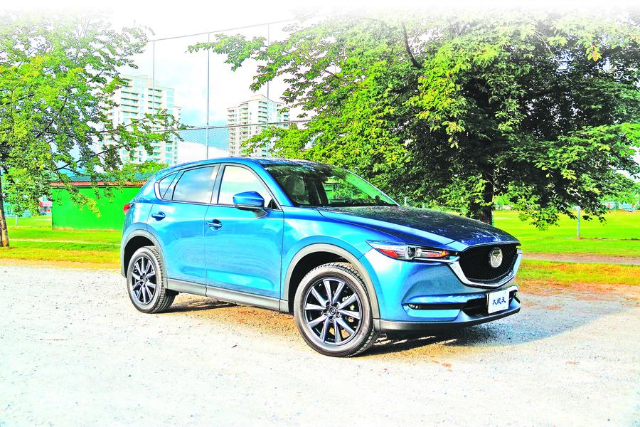 生氣勃勃2018 Mazda CX-5 GT