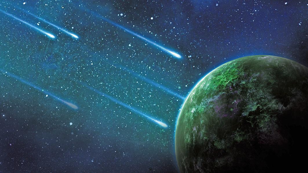 巨大「浩克」綠色彗星接近地球