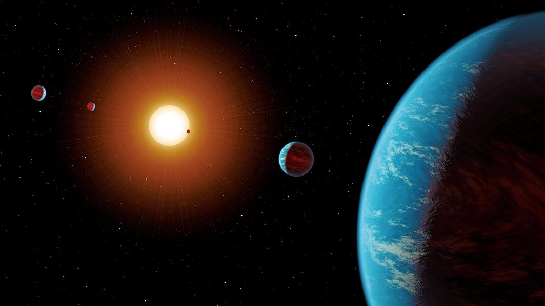 一個國際研究團隊一次發現並證實了44顆系外行星的存在。研究所使用的驗證技巧,能大幅加速更多系外行星的驗證。(NASA)
