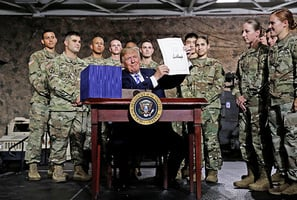 特朗普簽署《國防授權法》