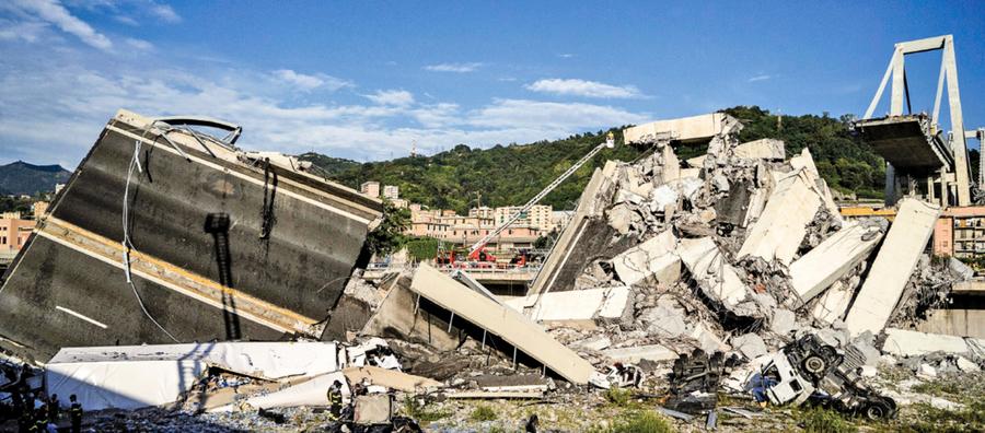 意國天橋坍塌當局將追究責任