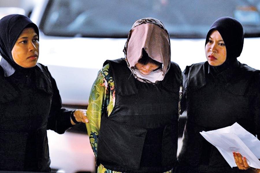 金正男案2女謀殺罪成立