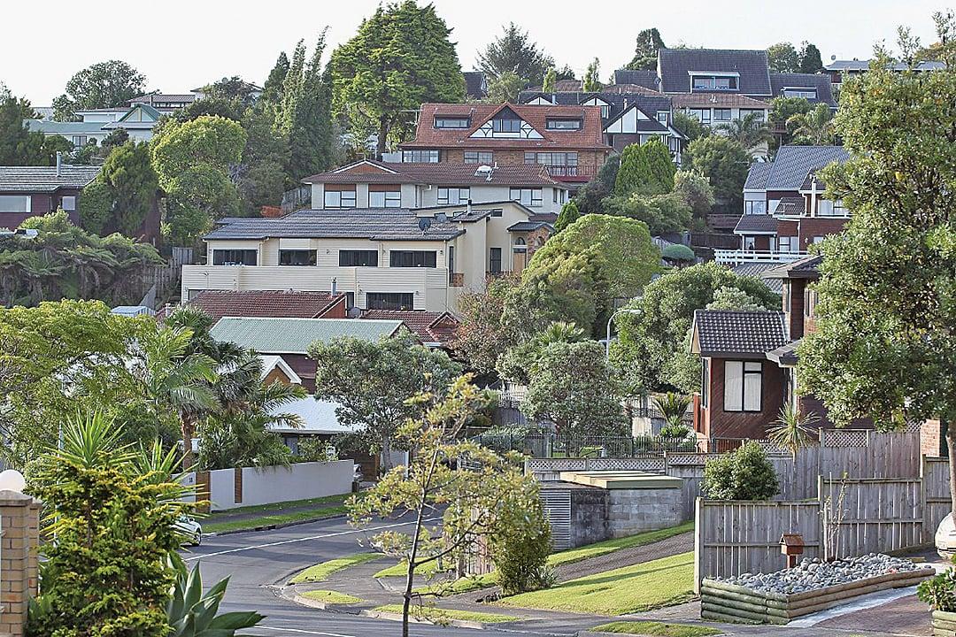 中國人過去幾年來是在紐西蘭最大的海外買家。圖為奧克蘭的房地產。(GettyImages)