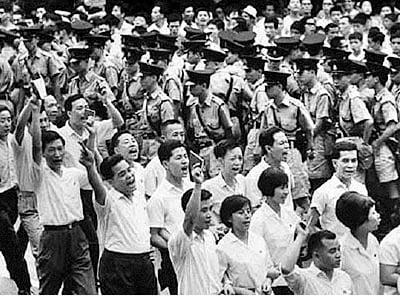 「城工委」則秘密存在,不過在六七當年與「工委」平行運作,作為暴動的前線指揮部。(網路圖片)