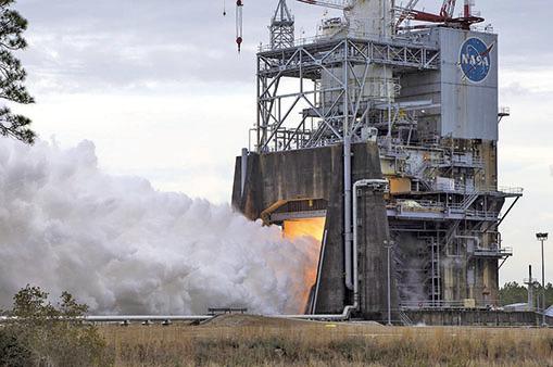 NASA測試火箭新引擎 登陸火星又近一步