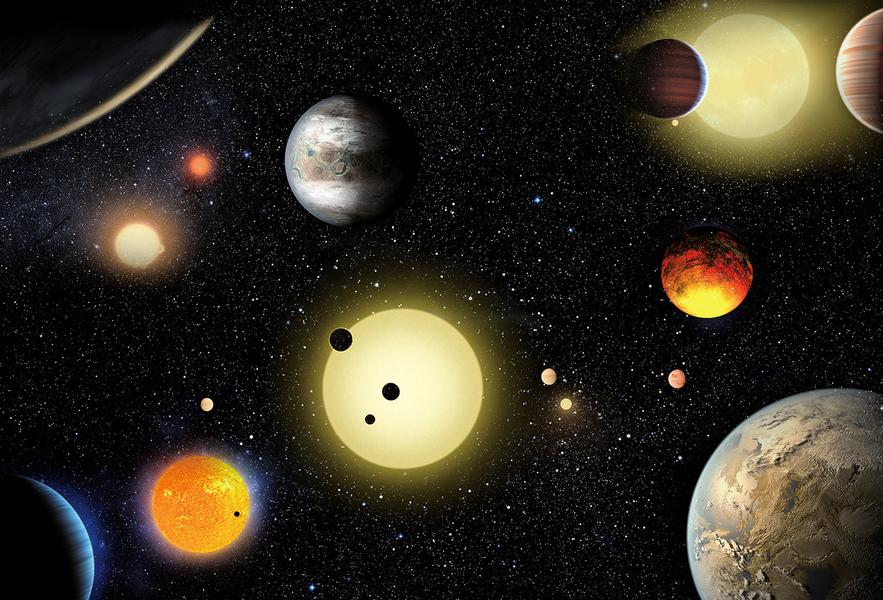 找到兩顆人類宜居的系外行星