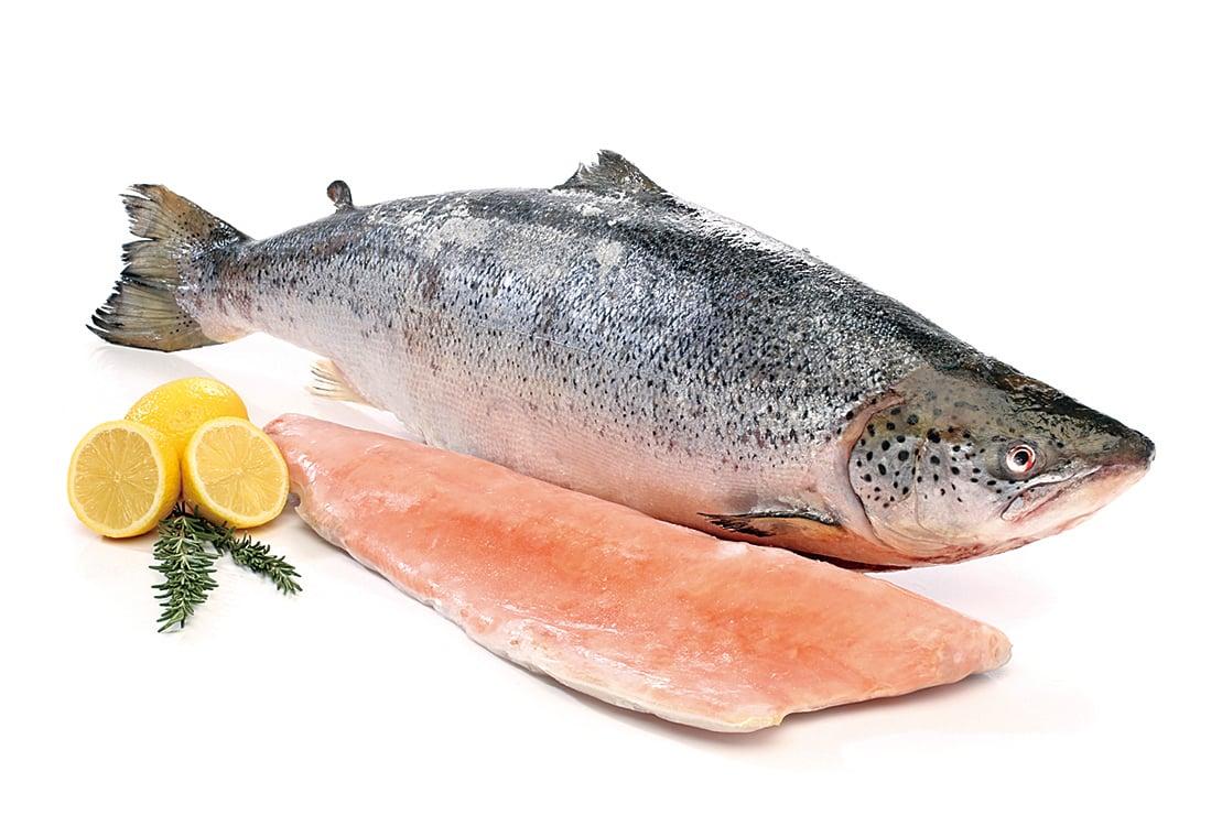 三文魚中含有OMEGA-3脂肪酸及維他命D。