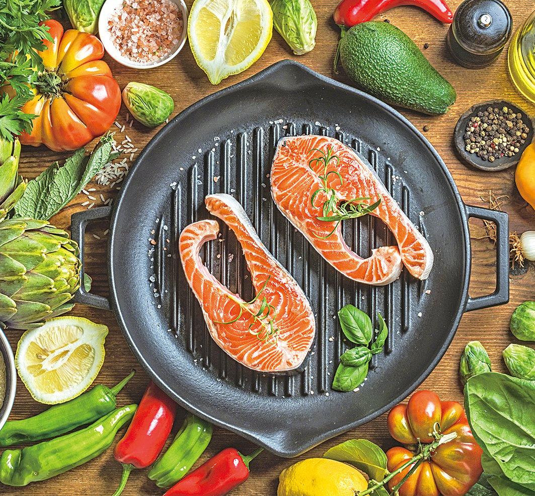 多吃三文魚對身體有益,好好烹調美味滿分!