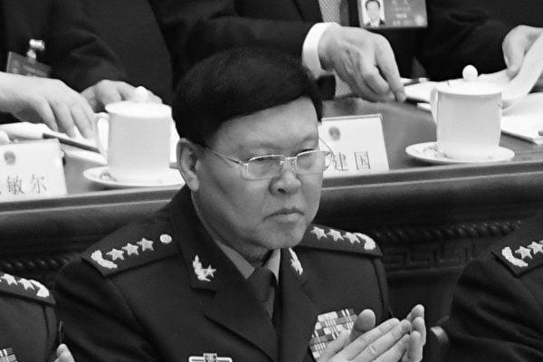 中共前軍委委員張陽(圖)在去年中共十九大前落馬,隨後「畏罪自殺」。張陽成為中共近40年來首名自殺的上將和軍委委員。(GREG BAKER/AFP/Getty Images)