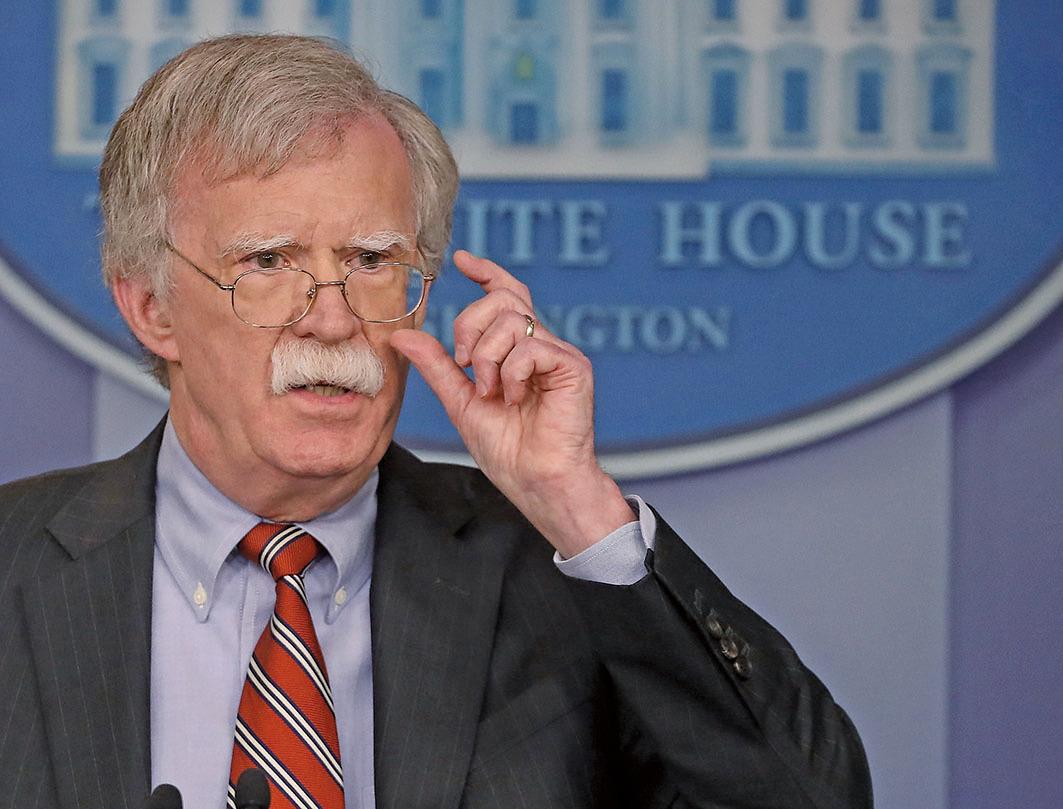美國國家安全顧問博爾頓說,可能企圖干預2018年美國中期選舉的除了俄羅斯,還有另外三個國家。(Getty Images)